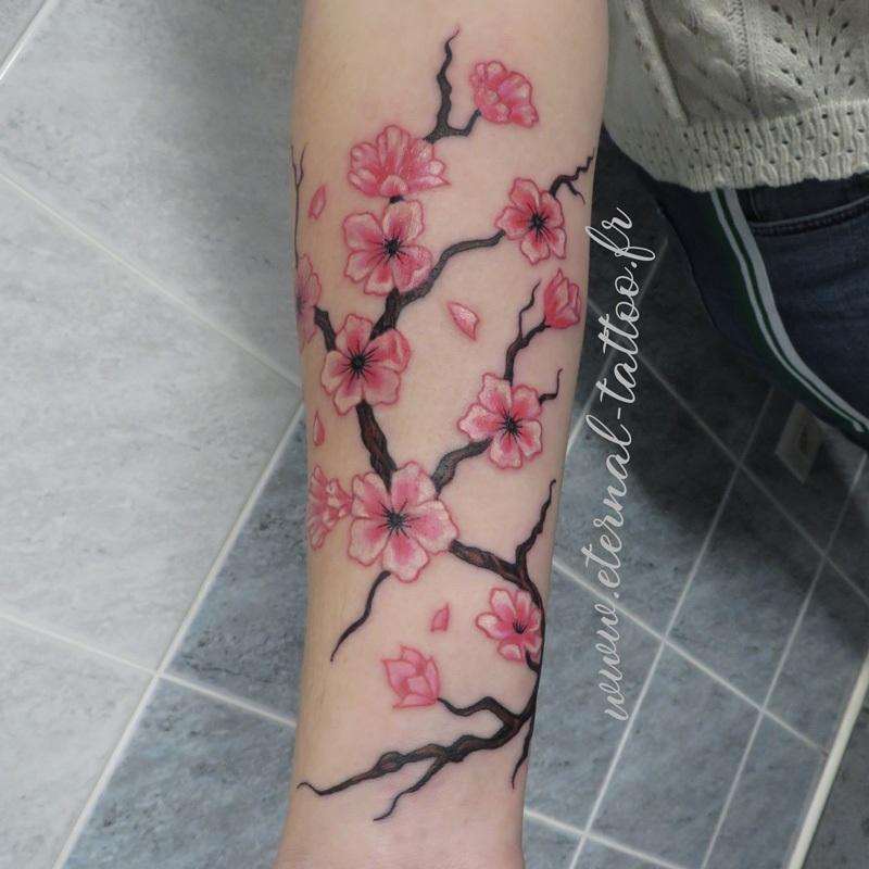 Tatouage Fleurs Exemple De Tatouages Fleurs Eternal Tattoo