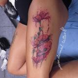 1-a-fleurs-coquelicot-peinture